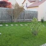 Nivellement de terrain et création de pelouse